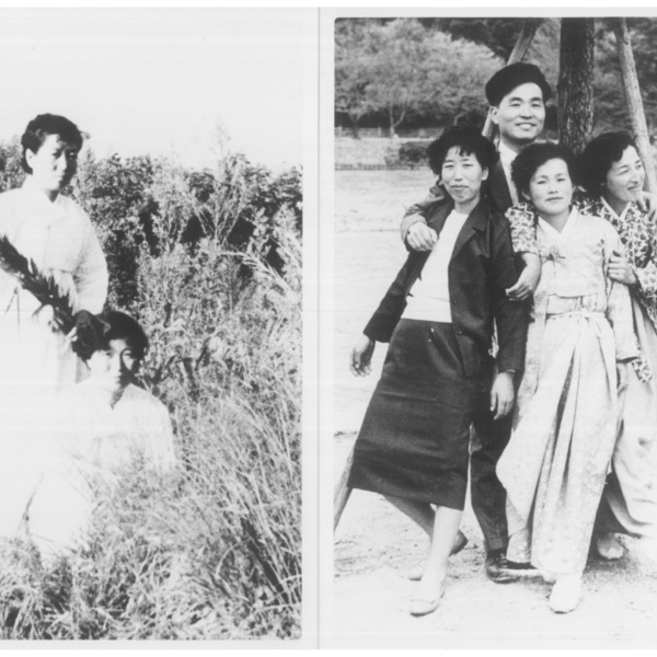 강경남 할머니 흑백 사진 1